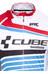Cube Teamline Multifunktionsjacke Herren white'n'blue'n'red